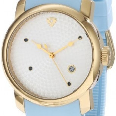 Swiss Legend Women's 20028-YG-02S-BBL Planetimer Sapphire-Accented | 100% original, import SUA, 10 zile lucratoare af22508 - Ceas dama Swiss Legend, Silicon, Analog
