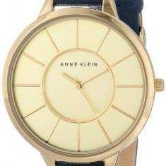 Anne Klein Women's AK 1500CHNV Slim | 100% original, import SUA, 10 zile lucratoare af22508 - Ceas dama Anne Klein, Analog