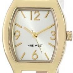 Nine West Women's NW 1598SVWT Watch | 100% original, import SUA, 10 zile lucratoare af22508 - Ceas dama Nine West, Casual, Quartz, Analog