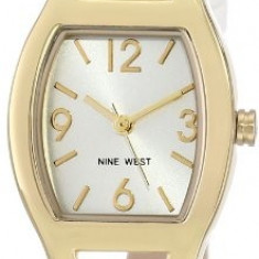 Nine West Women's NW 1598SVWT Watch | 100% original, import SUA, 10 zile lucratoare af22508 - Ceas dama Nine West, Analog