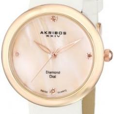 Akribos XXIV Women's AK687RGW Impeccable Swiss | 100% original, import SUA, 10 zile lucratoare af22508 - Ceas dama Akribos, Casual, Analog