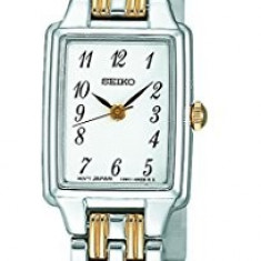 Seiko Women's SXGL61 Dress Two-Tone Watch | 100% original, import SUA, 10 zile lucratoare af22508 - Ceas dama Seiko, Elegant, Quartz, Analog