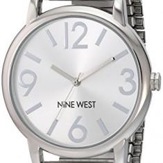 Nine West Women's NW 1665SVSB Sunray | 100% original, import SUA, 10 zile lucratoare af22508 - Ceas dama Nine West, Casual, Quartz, Analog