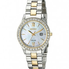 Seiko Women's SUT074 Dress Two-Tone Stainless | 100% original, import SUA, 10 zile lucratoare af22508 - Ceas dama Seiko, Elegant, Quartz, Analog