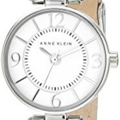 Anne Klein Women's AK 2031WTTN Silver-Tone | 100% original, import SUA, 10 zile lucratoare af22508 - Ceas dama Anne Klein, Analog