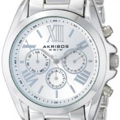 Akribos XXIV Women's AK693SS Ultimate Swiss | 100% original, import SUA, 10 zile lucratoare af22508 - Ceas dama Akribos, Casual, Quartz, Analog
