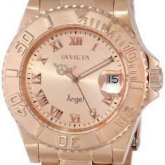 Invicta Women's INVICTA-14322 Angel Analog Display | 100% original, import SUA, 10 zile lucratoare af22508 - Ceas dama Invicta, Casual