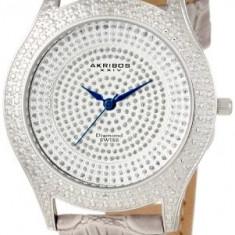 Akribos XXIV Women's AKR464GY Diamond Grey | 100% original, import SUA, 10 zile lucratoare af22508 - Ceas dama Akribos, Casual, Quartz, Analog