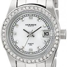 Akribos XXIV Women's AK489SS Diamond Quartz   100% original, import SUA, 10 zile lucratoare af22508 - Ceas dama Akribos, Elegant, Analog