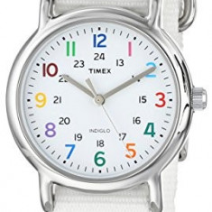 Timex Women's T2N837KW Weekender Watch With | 100% original, import SUA, 10 zile lucratoare af22508 - Ceas dama Timex, Casual, Quartz, Analog