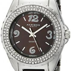 Akribos XXIV Women's AK514BR Ceramic Crystal | 100% original, import SUA, 10 zile lucratoare af22508 - Ceas dama Akribos, Casual, Quartz, Analog