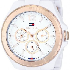 Tommy Hilfiger Women's 1781429 White and | 100% original, import SUA, 10 zile lucratoare af22508 - Ceas dama Tommy Hilfiger, Casual, Analog