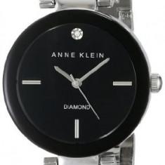 Anne Klein Women's AK 1363BKSV Diamond | 100% original, import SUA, 10 zile lucratoare af22508 - Ceas dama Anne Klein, Analog