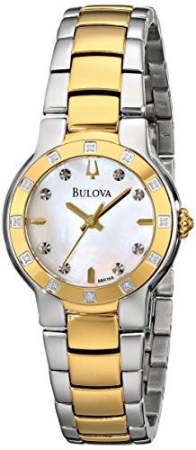 Bulova Women's 98R168 Diamond Case Watch | 100% original, import SUA, 10 zile lucratoare af22508 foto mare