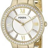 Fossil Women's ES3283 Virginia Gold-Tone Stainless | 100% original, import SUA, 10 zile lucratoare af22508 - Ceas dama Fossil, Analog