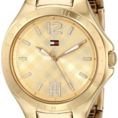 Tommy Hilfiger Women's 1781385 Gold-Tone Watch | 100% original, import SUA, 10 zile lucratoare af22508 - Ceas dama Tommy Hilfiger, Casual, Quartz, Analog