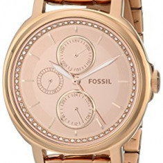 Fossil Women's ES3720 Chelsey Crystal-Accented Rose | 100% original, import SUA, 10 zile lucratoare af22508 - Ceas dama Fossil, Otel, Analog