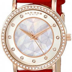 Akribos XXIV Amazon Exclusive Women's AK791RD | 100% original, import SUA, 10 zile lucratoare af22508 - Ceas dama Akribos, Casual, Quartz, Analog