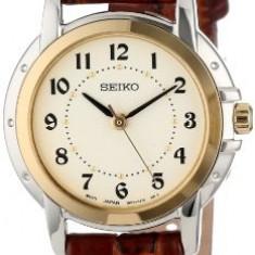 Seiko Women's SXGA02 Brown Leather Strap | 100% original, import SUA, 10 zile lucratoare af22508 - Ceas dama Seiko, Casual, Analog