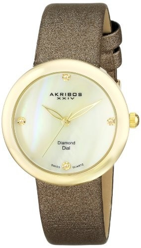 Akribos XXIV Women's AK687YG Impeccable Swiss | 100% original, import SUA, 10 zile lucratoare af22508