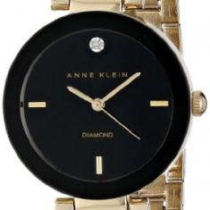 Anne Klein Women's AK 1362BKGB Diamond | 100% original, import SUA, 10 zile lucratoare af22508 - Ceas dama Anne Klein, Analog