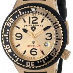 Swiss Legend Women's 11044P-YG-010-GDB Neptune Gold | 100% original, import SUA, 10 zile lucratoare af22508 - Ceas dama Swiss Legend, Casual, Quartz, Analog