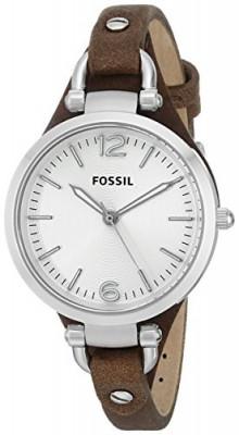 Fossil Women's ES3060 Georgia Three Hand | 100% original, import SUA, 10 zile lucratoare af22508 foto