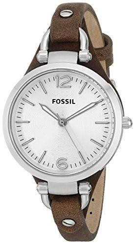 Fossil Women's ES3060 Georgia Three Hand | 100% original, import SUA, 10 zile lucratoare af22508