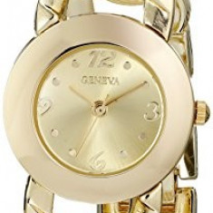 Geneva Women's FMDJM117 Gold-Tone Watch with | 100% original, import SUA, 10 zile lucratoare af22508 - Ceas dama Geneva, Casual, Quartz, Analog