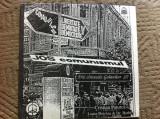 Din cantecele golanilor jos comunismul vol I disc vinyl lp muzica folk rock 1991, VINIL, electrecord