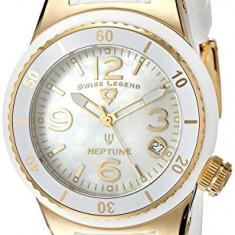 Swiss Legend Women's 11840P-YG-02-MOP Neptune White | 100% original, import SUA, 10 zile lucratoare af22508 - Ceas dama Swiss Legend, Analog