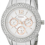 Fossil Women's ES3722 Stella Crystal-Accented Stainless | 100% original, import SUA, 10 zile lucratoare af22508 - Ceas dama Fossil, Analog