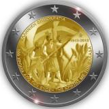 GRECIA 2 euro comemorativa 2013 CRETA - UNC, Europa, Cupru-Nichel