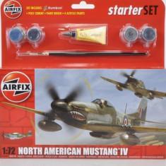 2880.Macheta Kit North American Mustang IV AIRFIX scara 1:72 - Macheta Aeromodel
