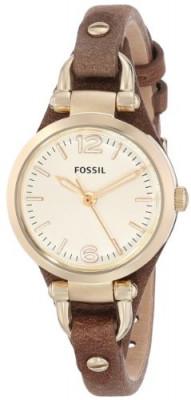 Fossil Women's ES3264 Georgia Gold-Tone Stainless | 100% original, import SUA, 10 zile lucratoare af22508 foto