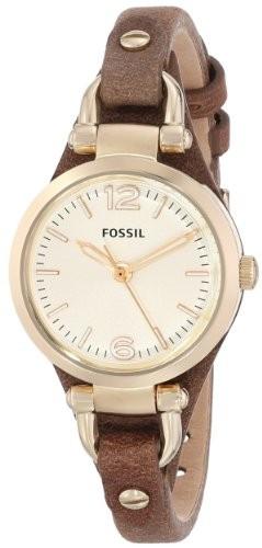 Fossil Women's ES3264 Georgia Gold-Tone Stainless | 100% original, import SUA, 10 zile lucratoare af22508 foto mare