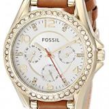 Fossil Women's ES3723 Riley Multifunction Gold-Tone | 100% original, import SUA, 10 zile lucratoare af22508 - Ceas dama Fossil, Analog