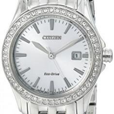 Citizen Women's EW1901-58A Silhouette Crystal Analog | 100% original, import SUA, 10 zile lucratoare af22508 - Ceas dama