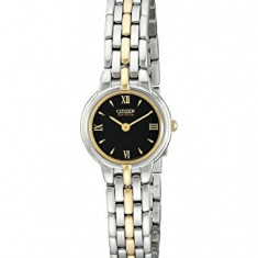 Citizen Women's EW9334-52E Eco-Drive Silhouette Two-Tone | 100% original, import SUA, 10 zile lucratoare af22508 - Ceas dama Citizen, Analog