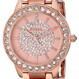 Fossil Women's ES3657 Jesse Crystal-Accented Rose | 100% original, import SUA, 10 zile lucratoare af22508 - Ceas dama Fossil, Analog