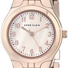 Anne Klein Women's 10 5490RMRG Easy | 100% original, import SUA, 10 zile lucratoare af22508 - Ceas dama Anne Klein, Elegant, Quartz, Analog