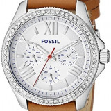 Fossil Women's AM4623 Cecile Crystal-Accented Stainless | 100% original, import SUA, 10 zile lucratoare af22508 - Ceas dama Fossil, Analog