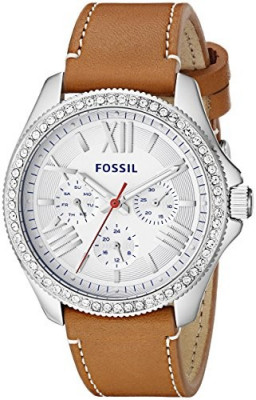 Fossil Women's AM4623 Cecile Crystal-Accented Stainless | 100% original, import SUA, 10 zile lucratoare af22508 foto