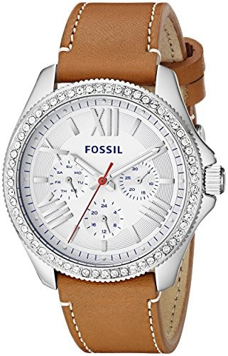 Fossil Women's AM4623 Cecile Crystal-Accented Stainless | 100% original, import SUA, 10 zile lucratoare af22508 foto mare