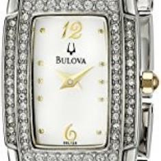 Bulova Women's 98L128 Crystal Accented Bangle | 100% original, import SUA, 10 zile lucratoare af22508 - Ceas dama Bulova, Elegant, Analog