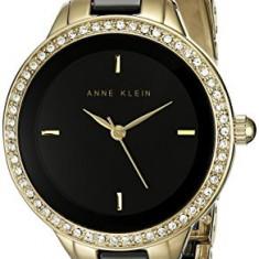 Anne Klein Women's AK 1418BKGB Swarovski | 100% original, import SUA, 10 zile lucratoare af22508 - Ceas dama Anne Klein, Analog