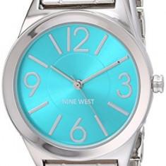 Nine West Women's NW 1663TQSB Turquoise | 100% original, import SUA, 10 zile lucratoare af22508 - Ceas dama Nine West, Casual, Quartz, Analog