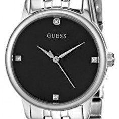 GUESS Women's U0533L1 Silver-Tone Mesh Watch | 100% original, import SUA, 10 zile lucratoare af22508 - Ceas dama Guess, Analog