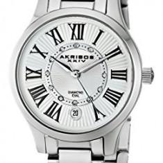 Akribos XXIV Women's AK570SS Lady Diamond | 100% original, import SUA, 10 zile lucratoare af22508 - Ceas dama Akribos, Casual, Quartz, Analog