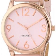Nine West Women's NW 1158PKRG Rose | 100% original, import SUA, 10 zile lucratoare af22508 - Ceas dama Nine West, Analog